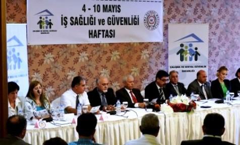 """""""4-10 MAYIS İŞ SAĞLIĞI VE GÜVENLİĞİ HAFTASI"""""""