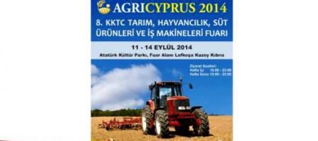 AGRICYPRUS 2014 YARIN BAŞLIYOR
