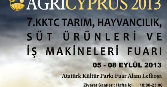 """"""" AGRICYPRUS"""" Fuarı'nın 7'ncisi yarın başlıyor."""