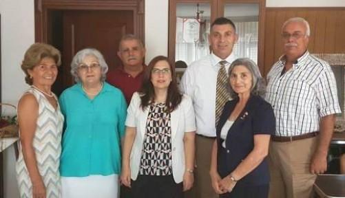 ALANLI MERSİN'DE TEMASLARDA BULUNDU