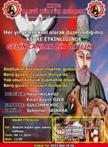 ALEVİ KÜLTÜR MERKEZİ'NDEN AŞURE ETKİNLİĞİ