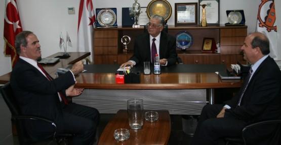 Altepe, Lefkoşa Türk Belediyesi'ni ziyaret etti