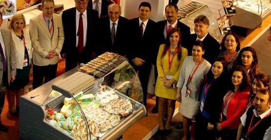 AMCAOĞLU VE ATUN, DUBAİ'DE, GULFOOD 2013 FUARINDA