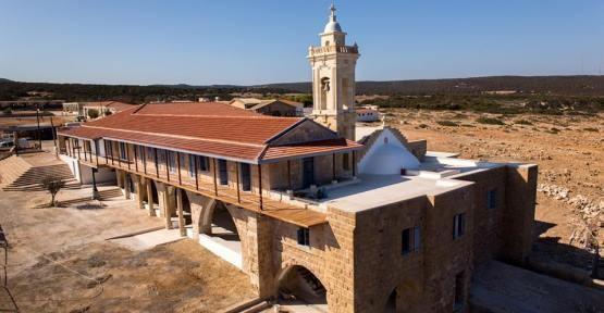 APOSTOLOS ANDREAS'DA BİRİNCİ ETAP TAMAMLANDI