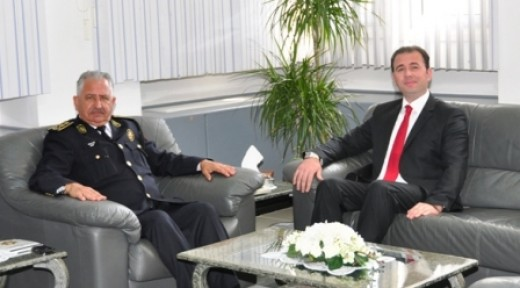 AYH POLİS GENEL MÜDÜRÜ ZAİM'İ ZİYARET ETTİ