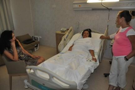 Aziz YDÜ Hastanesi'nde Ameliyat edildi