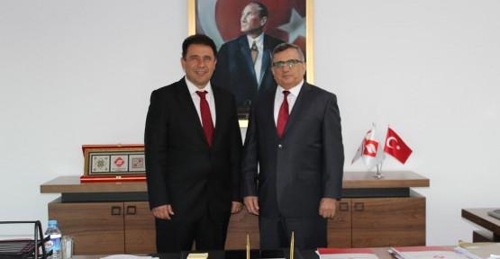BAKAN SANER ULUSLARARASI FİNAL ÜNİVERSİTESİ'Nİ ZİYARET ETTİ