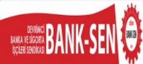 BANK-SEN'DEN GÖRÜŞMELERE DESTEK