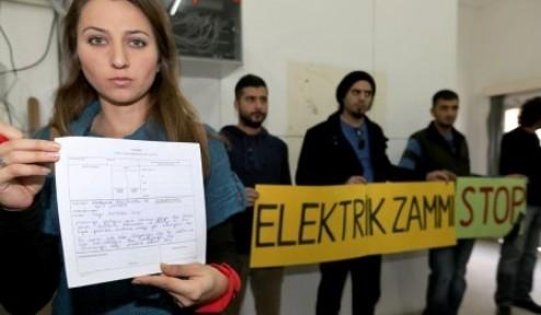 """BARAKA KÜLTÜR MERKEZİ'NDEN """"TELGRAF""""LI PROTESTO"""