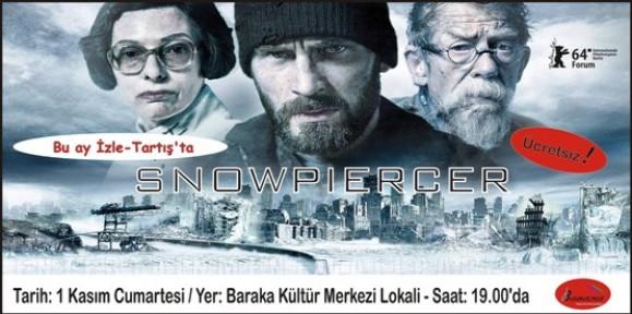 BARAKA'DA SNOWPIERCER FİLMİ GÖSTERİLECEK