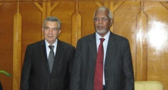 BOZER VE BERABERİNDEKİ HEYET SUDAN'DA