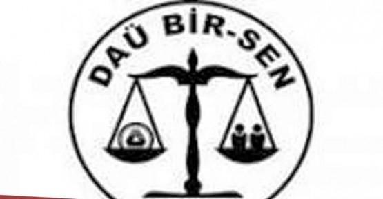 DAÜ BİR-SEN'DEN DE EMEK-İŞ'İN GREVİNE DESTEK