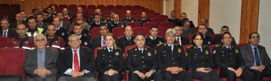 DAÜ'DE POLİS GENEL MÜDÜRLÜĞÜ KATILIMI İLE SERTİFİKA TÖRENİ DÜZENLENDİ