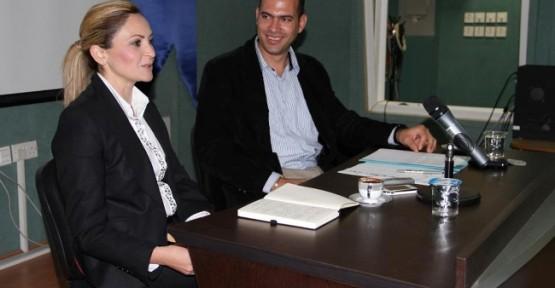 DAÜ'de televizyon gazeteciliği tartışıldı