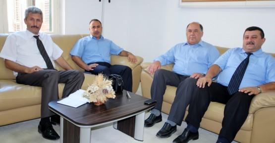 DİN GÖREVLİLERİ SENDİKASI, CTP-BG'Yİ ZİYARET ETTİ