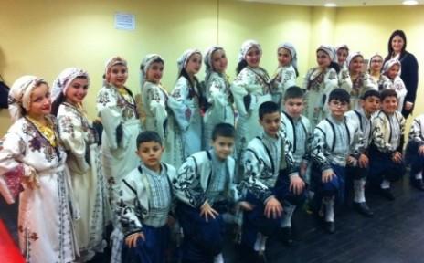 Doğa Okulları halk dansları yarışması