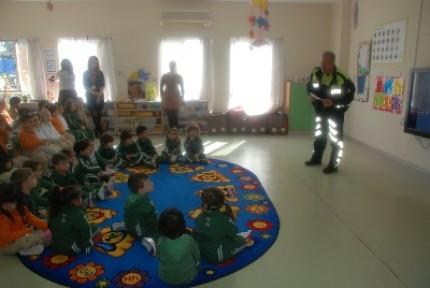 Doğu Akdeniz Doğa Anaokulu öğrencilerine Trafik Eğitim Semineri düzenlendi