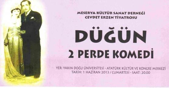 """""""DÜĞÜN"""" LÖSEMİ HASTASI BİR GENÇ İÇİN SERGİLENİYOR"""