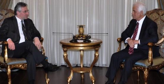 EROĞLU AVRUPA MUHAFAZAKARLAR VE REFORMCULAR'I KABUL ETTİ