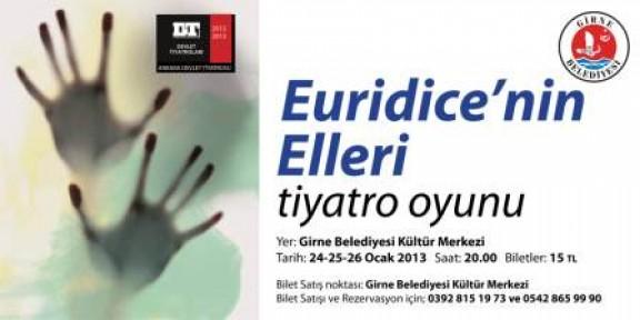 """""""EURİDİCE'NİN ELLERİ"""""""