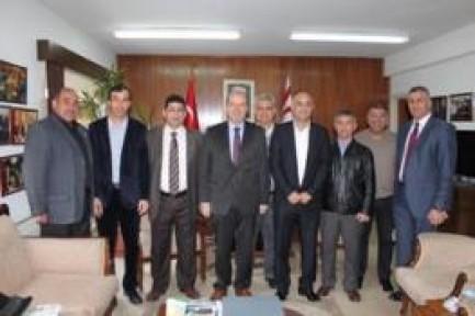 FUTBOL MASTERLER DERNEĞİ'NDEN BAKAN TATAR'A ZİYARET