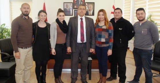 GAZİMAĞUSA HALK DANSLARI DERNEĞİ ARTER'İ ZİYARET ETTİ