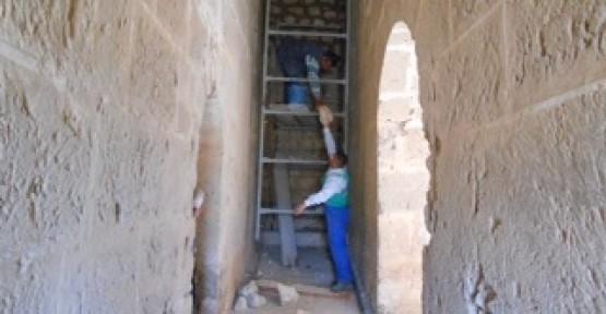 Gazimağusa'da bulunan Akkule Tabyası'nın restorasyonu yapıldı