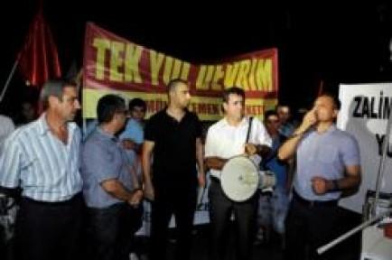 GEZİ PARKI PROTESTOCULARINA DESTEK