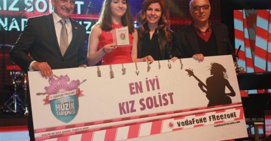 GÜZELYURT KURTULUŞ LİSESİ VODAFONE FREEZONE YARIŞMASI'NDA ÖDÜL KAZANDI