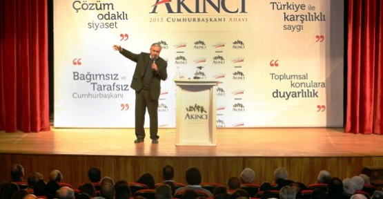 """HALKIN İRADESİNİ MASAYA TAŞIMAYA KARARLIYIM"