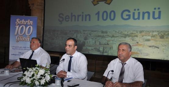 HARMANCI, 100 GÜNÜ DEĞERLENDİRDİ