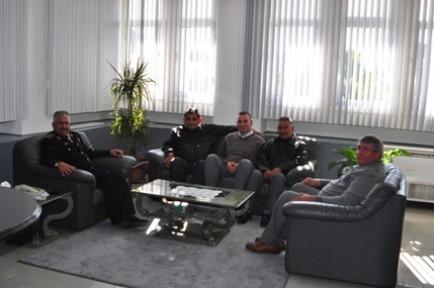Hayvancılar Birliği Polis Genel Müdürü  Zaim'i ziyaret etti