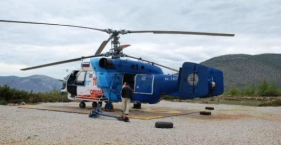 Helikopterin fiyatı 12 milyon Dolar!