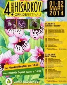 HİSARKÖY ORKİDE FESTİVALİ 1-2 MART'TA