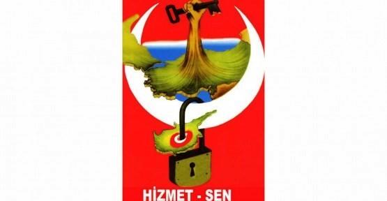 HİZMET-SEN, EROĞLU'NA DESTEK AÇIKLADI