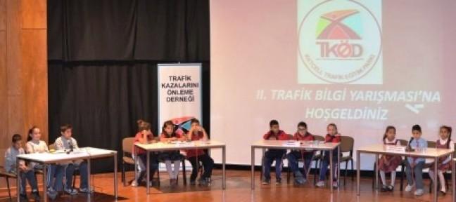 """""""İKİNCİ İLKOKULLAR ARASI TRAFİK BİLGİ YARIŞMASI"""""""