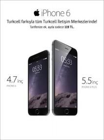 İPHONE 6 TURKCELL FARKIYLA KIBRIS'TA