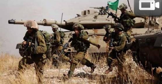 İsrail ordusu Suriye sınırında