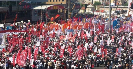 İSTANBUL'DA 1 MAYIS İŞÇİ BAYRAMI'NDA OLAYLAR