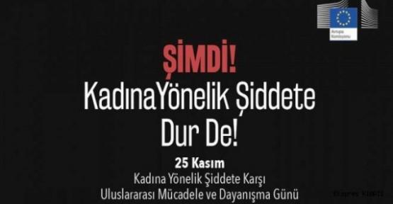 """""""KADINLARIN ÜÇTE BİRİ FİZİKSEL ŞİDDET GÖRÜYOR"""""""