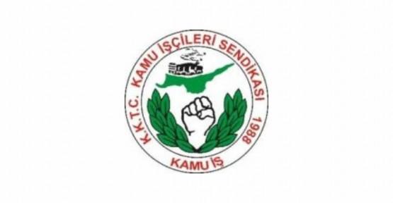 KAMU-İŞ ÜYELERİ GREVDE