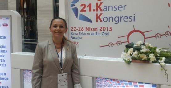 KHYD 21. ULUSAL KANSER KONGRESİ'NE KATILDI