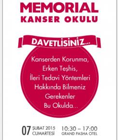 """""""KIBRIS KANSER OKULU"""" 7 ŞUBAT'TA..."""