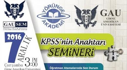 """""""KPSS'NİN ANAHTARI"""""""