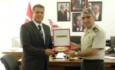 KTBK KOMUTANI SAVAŞ ARTER'İ ZİYARET ETTİ