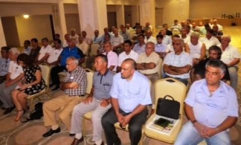 KTEZO, Adana esnafı başkanlarıyla bir araya geldi