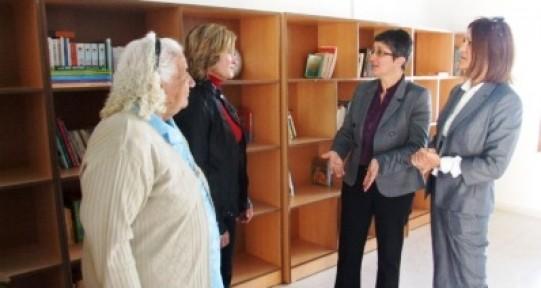 Kültür Dairesi'nden kitap bağışı