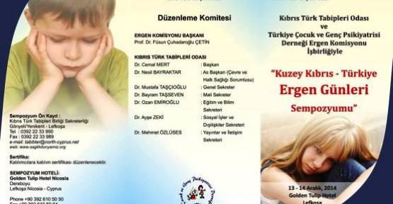 """""""KUZEY KIBRIS TÜRKİYE ERGEN GÜNLERİ SEMPOZYUMU"""""""