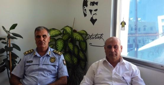 LEFKOŞA POLİS MÜDÜRÜ SAVAŞÇI, BENLİ'Yİ ZİYARET ETTİ