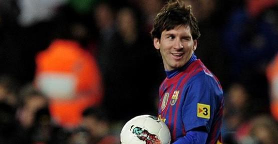Lionel Messi'den bir rekor daha!